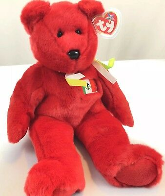 2db9484a6f7 TY Beanie Buddies OSITO The Mexico Bear 14in Retired 1999 Vintage Plush  Animal