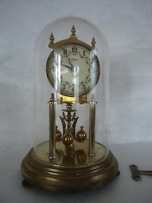Vintage Kundo 400 Day Anniversary Clock. Untested