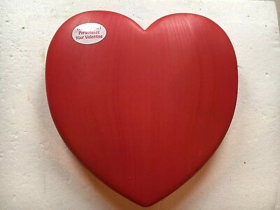 Blow Mold Valentines Red Giant Heart With Lighted Cord Union Products