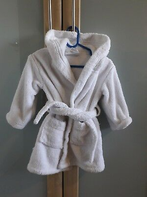 The Little White Company Dressing Gown 12-18 months