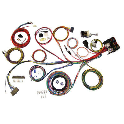 American Autowire 510004 Wiring Kit Power Plus 13 Universal | CJ Pony Parts