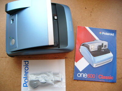 Polaroid One 600 classic & instrucs - tested fully working great camera with bag