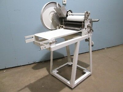 """colborne B6-669"" Hd Commercial Floor Model Dbl Pass Thru Dough Roller/sheeter"