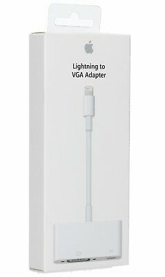 Apple - Lightning-to-VGA Adapter - White MD825ZM/A
