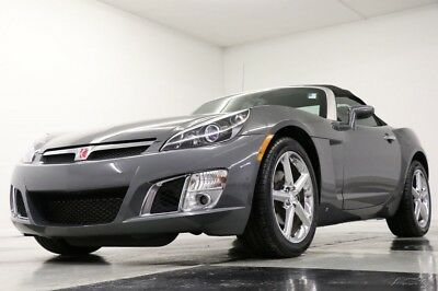2008 Saturn Sky Sky Red Line Turbo Convertible Techno Gray Used Sky Black Leather CD Player Convertible 2.0L Red Line 2008