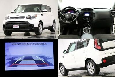 2017 KIA Soul Base Camera Clear White Hatchback For Sale 2017 Base Camera Clear White Hatchback For Sale Used 1.6L I4 16V Automatic FWD