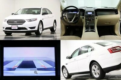 2017 Ford Taurus SE Camera Oxford White Sedan For Sale 2017 SE Camera Oxford White Sedan For Sale Used 3.5L V6 24V Automatic FWD Sedan
