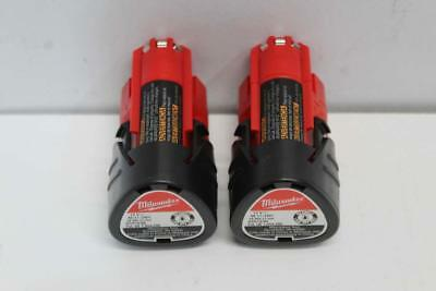 Milwaukee Mixed Bundle M12 Li-Ion Batteries and Charger