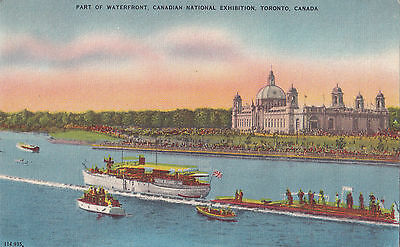 Waterfront Canadian National Exhibition TORONTO Ontario 1920-30s Valentine-Black