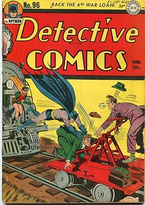 "Detective # 96 - Alfred's Surname ""beagle"" Later Is Pennyworth - Dick Sprang Art"
