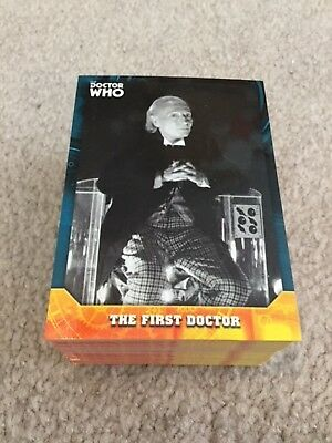 2017 Topps Doctor Who Signature Series complete base trading card set 100 cards