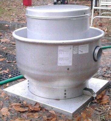 """Used Commercial Restaurant Kitchen Exhaust Fan - 26"""" Base"""