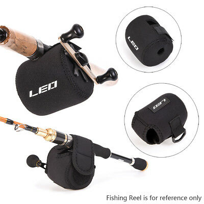 2X Fishing Reel Cover Bag Reel Case Spinning Casting Drum Reel Pouch Protector