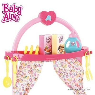 Baby Alive Doll 3 in 1 Cook 'n Care Play Set 3+ NEW
