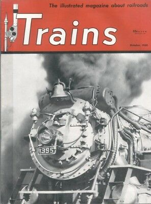 Trains Magazine,10/50:southern Ps-4;rahway Valley;erie;walt Disney Grizzly Flats