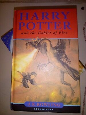 Harry Potter and the Goblet of Fire - 1st edition with printing error