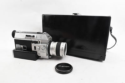 Canon Auto Zoom 814 Super 8 Motion Picture Movie Camera with Case WORKS RA07