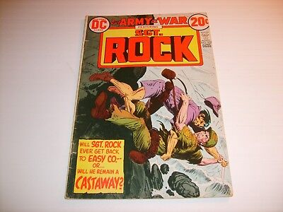 DC Our Army At War  #257  VG/FN    1973