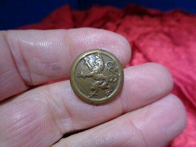 Old Civil War Uniform Metal Button #15