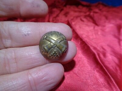 Old Civil War Uniform Metal Button #21