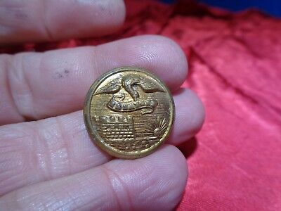 Old Civil War Uniform Metal Button #26