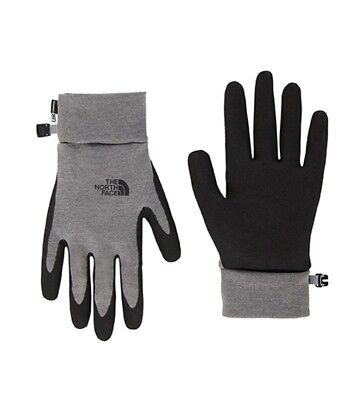 e7ec47daf3504 The North Face - Gants Etip gris / U|R® Powered Homme Outdoor Polyester