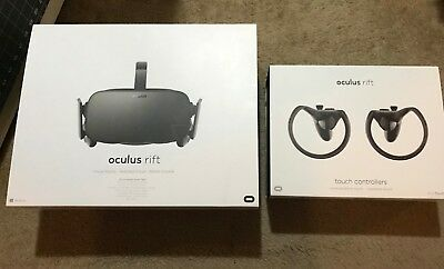 Oculus Rift + Touch Virtual Reality Headset + Wireless Xbox One Controller NICE!