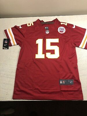 c162e8b8545 PATRICK MAHOMES BRAND New Stitched Jersey YOUTH youth XL Red ...