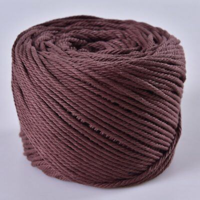 (Coffee, 4mm x 100m(About 109 yd)) Handmade Decorations Natural Cotton Rope