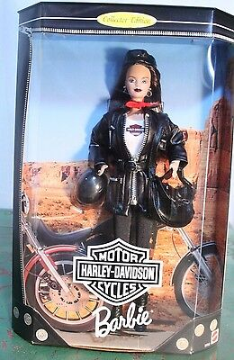 MATTEL Barbie Doll HARLEY-DAVIDSON Motorcycles Collector Edition 22256