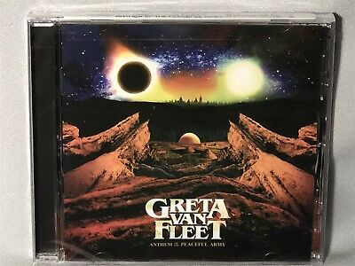 CD GRETA VAN FLEET Anthem Of The Peaceful Army (2018) NEW MINT SEALED