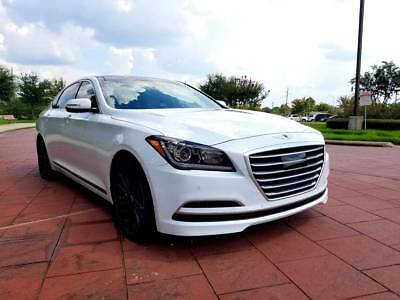 2015 Hyundai Genesis ULTIMATE 2015 Hyundai Genesis Sedan 3.8L Ultimate package with G80 Logo