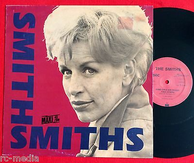 "THE SMITHS - Some Girls Are Bigger Than Others - Rare German Black Vinyl 12"" -"