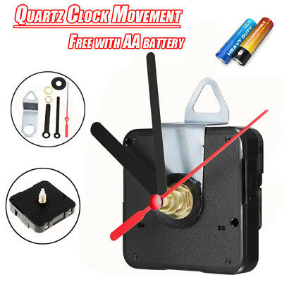 DIY Quartz Clock Movement Mechanism Module & Hands Replacement Part Kit GB TOP