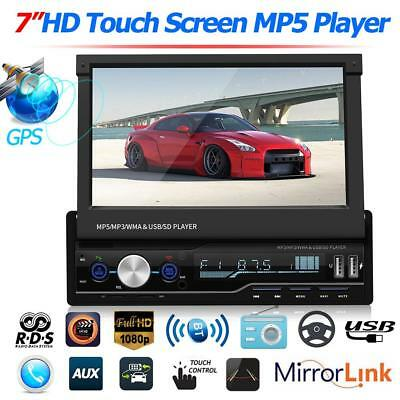 "7 "" Autoradio Stereo MP5 Player GPS Navi RDS FM AM Radio Bluetooth USB AUX DIN"