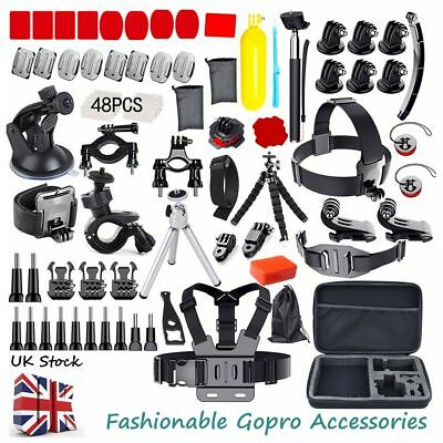Camera & GoPro Accessorie Kit Action Camera Mount Full Accessory set Bundle