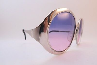 Vintage 60s steel sunglasses made in Germany by Marwitz Mod. AGO 54 women's M/L