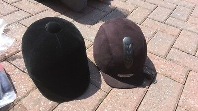 2 x riding hats new with out tags