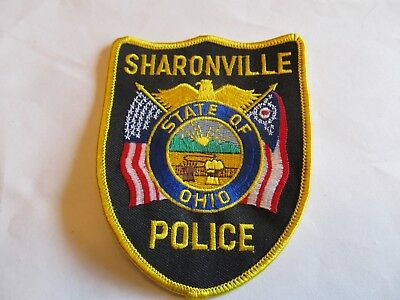 Ohio Sharonville Police Patch