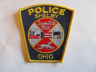 Ohio Shelby Police Patch