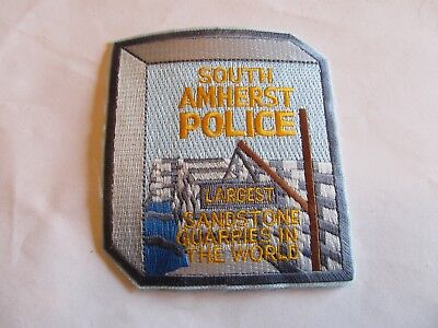 Ohio South Amherst Police Patch