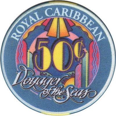 Royal Caribbean - Voyager of the Seas - 50c Casino Chip