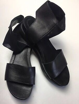 87d1d7aa363 Eileen Fisher Black Mesh Leather  Spree  Sport Comfort Sandal 8.5  195