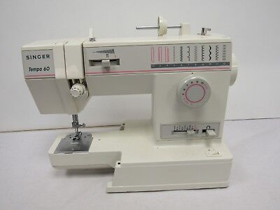 Vintage/Retro SINGER Tempo 60 Electric Sewing Machine - SHI S30