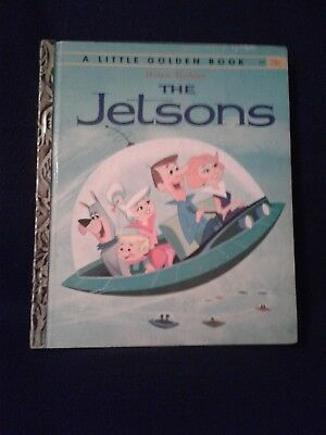 Vintage Little Golden Book The Jetsons 1962 1st ed. #500