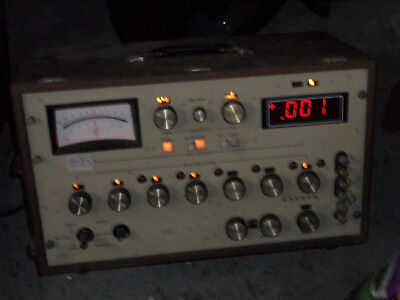 Vintage Digital Ohm Meter - PPM and % ratings - Built for Extreme Accuracy
