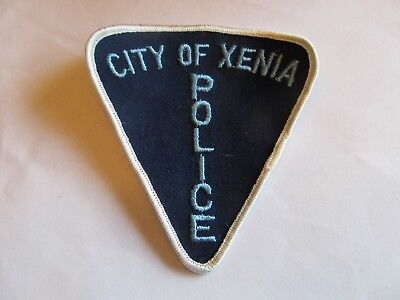Ohio Xenia Police Patch old Cheese Cloth