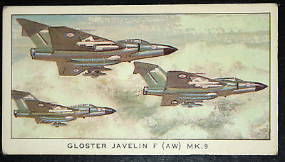 Gloster Javelin MK.9    Royal Air Force All Weather Jet Fighter  # Colour Card