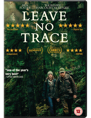 Leave No Trace DVD (2018) Ben Foster ***NEW***