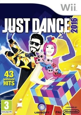Nintendo Wii game - Just Dance 2016 UK boxed